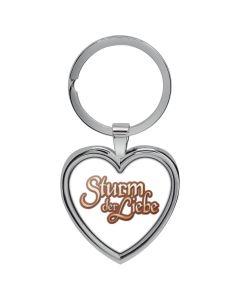 Schlüsselanhänger Herz Weiß - Sturm der Liebe